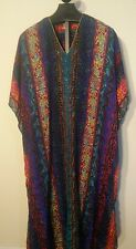 Intimate Options Tribal Multi Color Caftan Polyester Night Gown size fits all