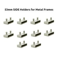 53mm Side Bed Slat Holders / Caps for Metal Frames - 2 Prongs - Free Delivery