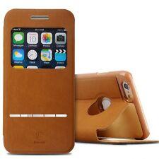 D'origine BASEUS Pochette de protection étui type portefeuille Braun pour Apple