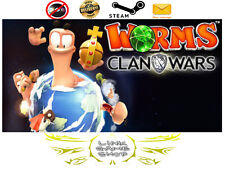 Worms Clan Wars PC & Mac Digital STEAM KEY - Region Free