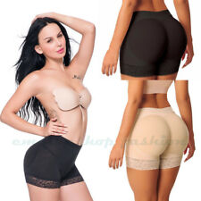 Womens Padded Bum Butt Lifter Panty Enhancer Pants Shaper Brief Push Underwear #