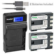 NB-2L Battery & Slim LCD Charger for Canon EOS 350D, 400D, Rebel XT, Rebel XTi