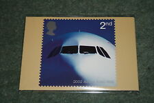 Royal Mail Stamp Cards PHQ241 'Airliners' 2002. Mint in Cellophane Packet