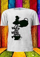 Disney Alice in Wonderland Tea Mad T-shirt Vest Tank Top Men Women Unisex 375