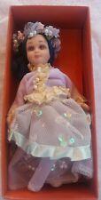 BAMBOLA PORCELLANA COLLEZIONE PINOCCHIO LA FATA TURCHINA porcellain doll vintage