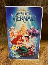 Disney Parks The Little Mermaid VHS Journal Notebook