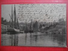 PONT-AVEN  :  Le Port en Amont...........VO.1903.
