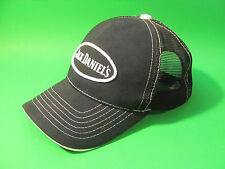 Jack Daniel's Snap Back Hat. Black / White.