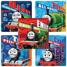 "25 Thomas The Train / Tank Stickers, 2.5""x2.5"" ea., Party Favors"