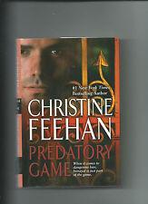 Predatory Game By Christine Feehan VGC Hardcover /DJ GhostWalker