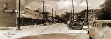 "York, Alabama 1949 Historic Vintage Sepia Photo Reprint 5 x 14"" FREE SHIPPING!"