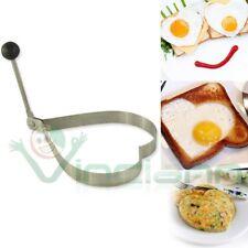 Stampo acciaio forma CUORE uovo uova pancake anello resistente cottura cucina