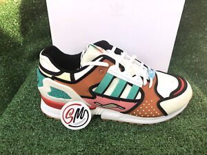 New Adidas x The Simpsons ZX 10000 'Krusty Burger' Size 10.5