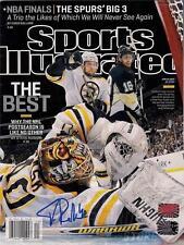 Tuukka Rask Boston Bruins Signed autographed Sports Illustrated Magazine