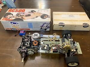 Vintage Associated RC500 2WD Used With New RC 4WD Conversion Kit / Delta / Thorp