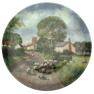 Footsteps Of Constable Plate The Summer Field Clive Madgewick