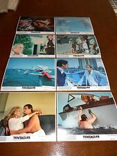 TENTACLES(1977)HENERY FONDA & SHELLY WINTERS ORIG COLOR STILL SET OF 8 DIF +