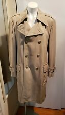 70's Trench Short Coat by Malcolm Kenneth Weatherproofs for Moe Serchuck Sz40