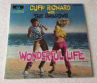 CLIFF RICHARD / SHADOWS~WONDERFUL LIFE~1964 UK 13-TRACK STEREO VINYL LP + INNER