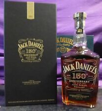 JACK DANIELS 150th Anniversery Decanter in Box  , VERY RARE , GREAT GIFT IDEA