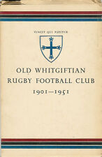"""OLD WHITGIFTIAN RFC - ""1901 – 1951"" by Ian S Hubbard - RUGBY BOOK"