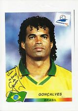 GONCALVES - Signed A4 Printed Page - BRAZIL
