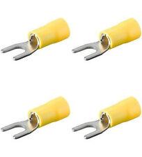 40 Gabelkabelschuhe gelb, M5 / M 6 Kabelschuhe für Kfz++++