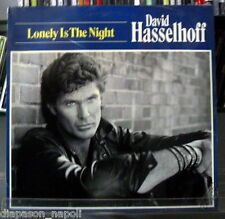 David Hasselhoff: Lonely Is The Night - LP Vinyl 33 rpm  Promo Germany press