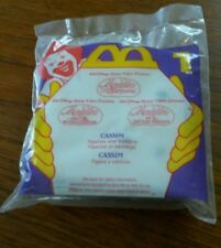 New 1996 McDonald's Happy Meal Toy #1 Aladdin and the King of Thieves Cassim NIP