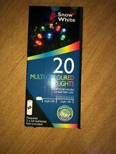 20 Multicoloured or Blue LED lights - Multiple listing - FREE Postage!