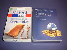 Teaching Co Great Courses CDs    FOUNDATIONS of ECONOMIC PROSPERITY  new + BONUS