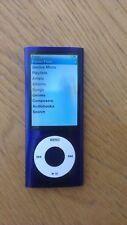 Fully Working Apple iPod Nano 5th Generation 8GB - Purple  EUC