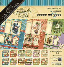 Graphic45 PLACE IN TIME DELUXE COLLECTOR'S EDITION scrapbooking CALENDAR