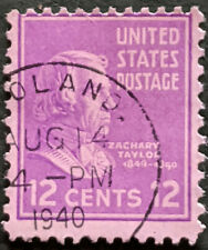 Stamp United States 1938 12c Presidential Issue Zachary Taylor Used