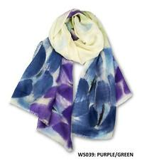 Ozwear UGG WS039 The Hand Painted Merino Wool Scarf 1830 X 640 mm New Gift
