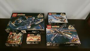 Lego Star Wars (System) Bundle - 100% complete + Instructions + Box