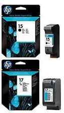 Genuino Original HP 17 color y 15 Negro 816C 825C 840C 843C 845C Envío rápido