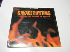 SAVAGE RHYTHMS-Talking Drums Of Africa-TEMPO Records T-1015 Stereo African Folk