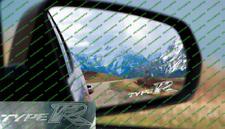 Honda Civic Type R fn2 FK Rising Sun Grabado Vidrio/Esmerilado Ala Espejo Adhesivo 2