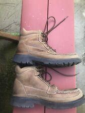 Mens High Top Brown Hydro Shield Waterproof Rockport Shoes sz 8.5