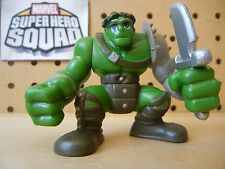 Marvel Super Hero Squad KING HULK in Gladiator Armor w/ Sword from Hulk Wave 2