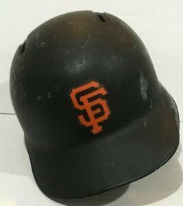 GEARRIN SZ 7 1//2 2016 SAN FRANCISCO GIANTS game used batting helmet issued MLB