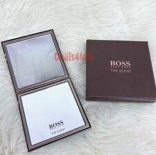 HUGO BOSS MIRROR MAKE UP / POCKET / COMPACT BRONZE DOUBLE SIDE NEW
