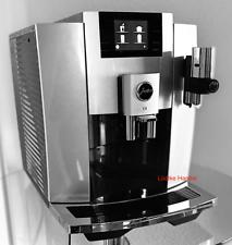 JURA E8 Moonlight Silver One Touch Kaffeevollautomat Vorführer 💫25 Mon Gewähr