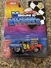 ACTION MUSCLE MACHINES Jeff Gordon #24 Dupont  NASCAR 1:64