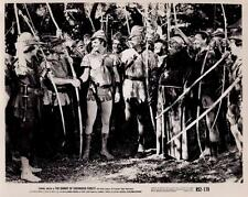 """Scene from """"The Bandit of Sherwood Forest"""" 1945 Vintage Movie Still"""