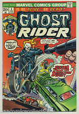 Ghost Rider #4 1974 Gary Friedrich Jim Mooney Marvel m