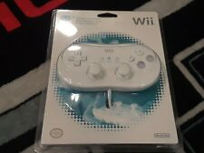 Nintendo Wii OEM Classic Controller Gamepad: UNOPENED! NEW!