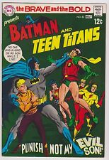 *ERROR* Brave and the Bold #83 Featuring Batman & Teen Titans, Very Fine Cond'