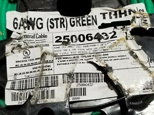 General Cable #6awg THHN/THWN-2 Stranded Copper Building Wire Green /50ft
